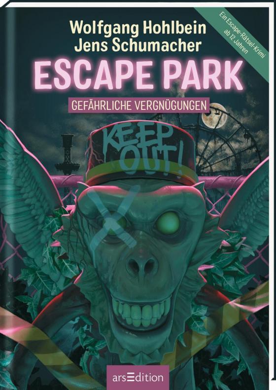Cover-Bild Escape Park - Gefährliche Vergnügungen