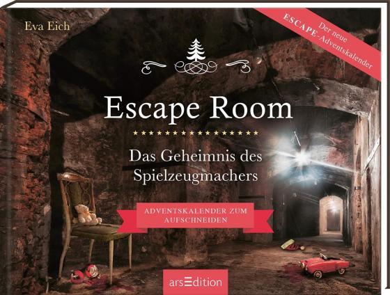 Cover-Bild Escape Room. Das Geheimnis des Spielzeugmachers. Das Original: Der neue Escape-Room-Adventskalender von Eva Eich
