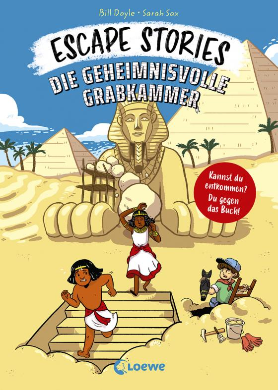Cover-Bild Escape Stories - Die geheimnisvolle Grabkammer