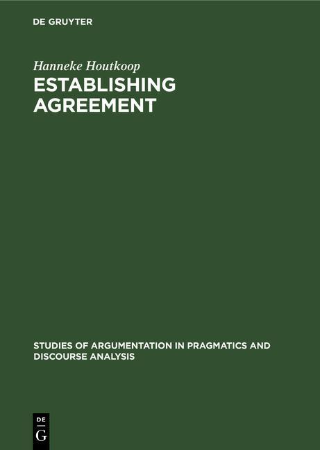 Cover-Bild Establishing agreement