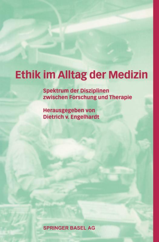 Cover-Bild Ethik im Alltag der Medizin