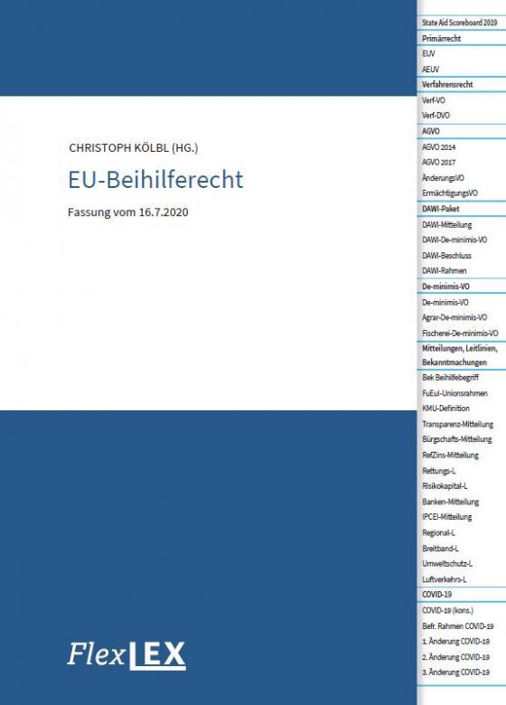 Cover-Bild EU-Beihilferecht
