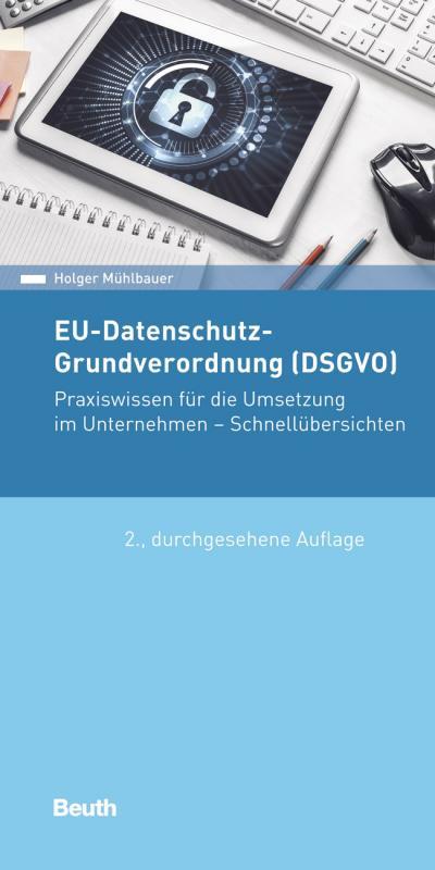 Cover-Bild EU-Datenschutz-Grundverordnung (DSGVO)