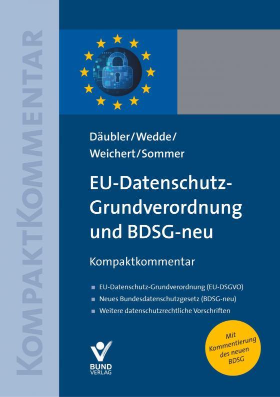 Cover-Bild EU-Datenschutz-Grundverordnung und BDSG-neu