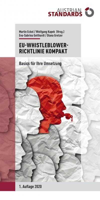 Cover-Bild EU-Whistleblower-Richtlinie kompakt