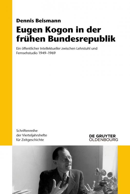 Cover-Bild Eugen Kogon in der frühen Bundesrepublik