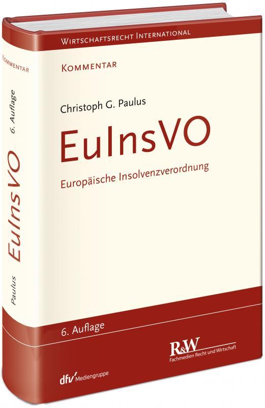 Cover-Bild EuInsVO - Europäische Insolvenzverordnung