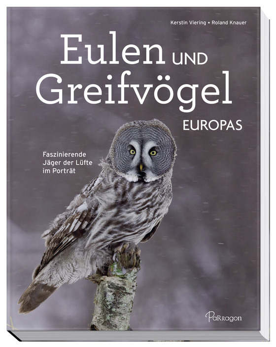 Cover-Bild Eulen und Greifvögel Europas
