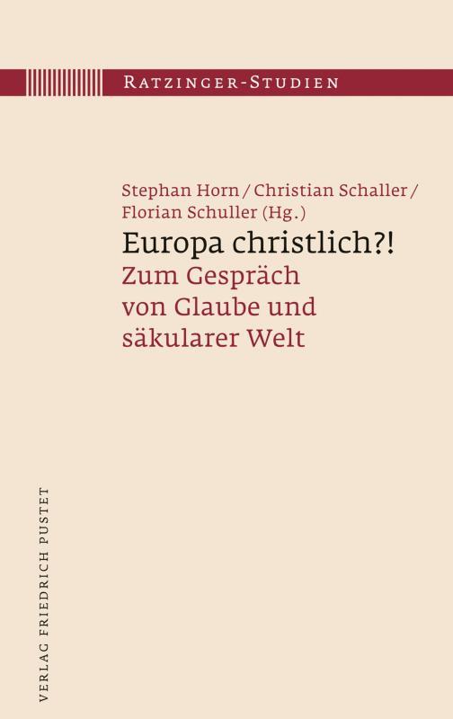 Cover-Bild Europa christlich?!
