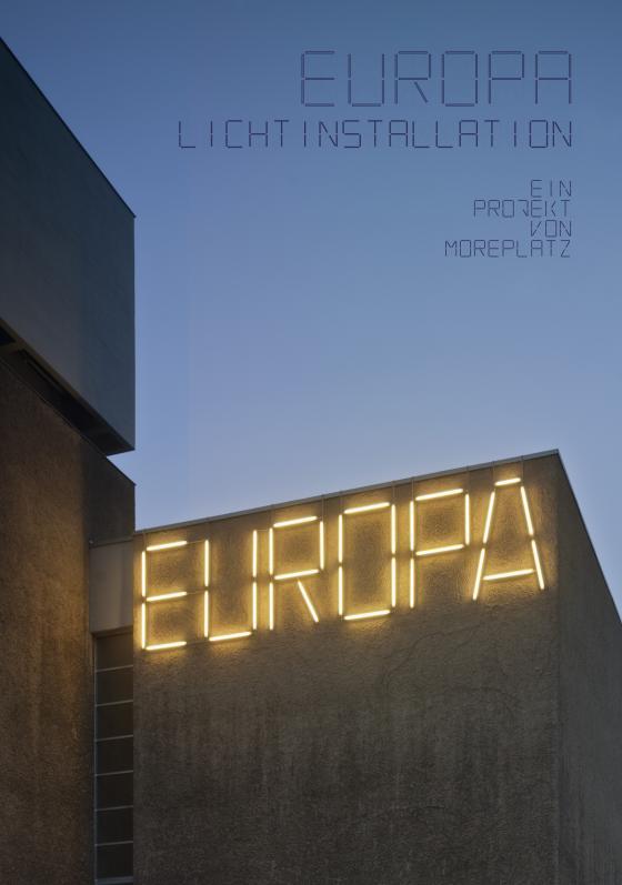Cover-Bild EUROPA Lichtinstallation
