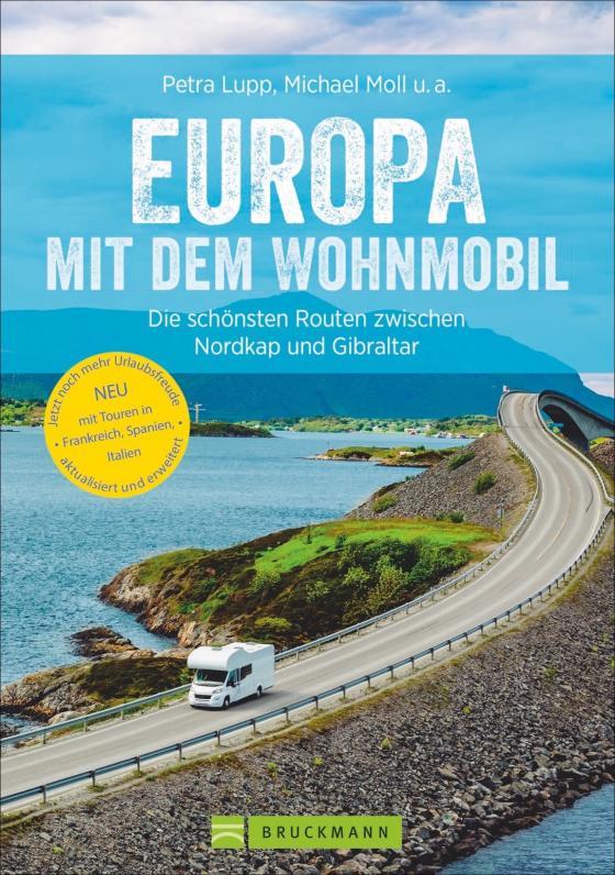 Cover-Bild Europa mit dem Wohnmobil