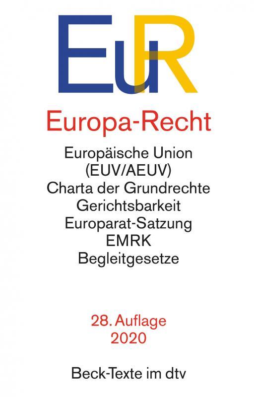 Cover-Bild Europa-Recht