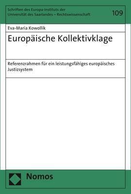Cover-Bild Europäische Kollektivklage