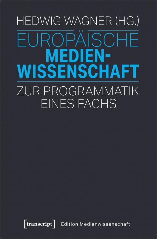 Cover-Bild Europäische Medienwissenschaft