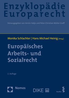 Cover-Bild Europäisches Arbeits- und Sozialrecht