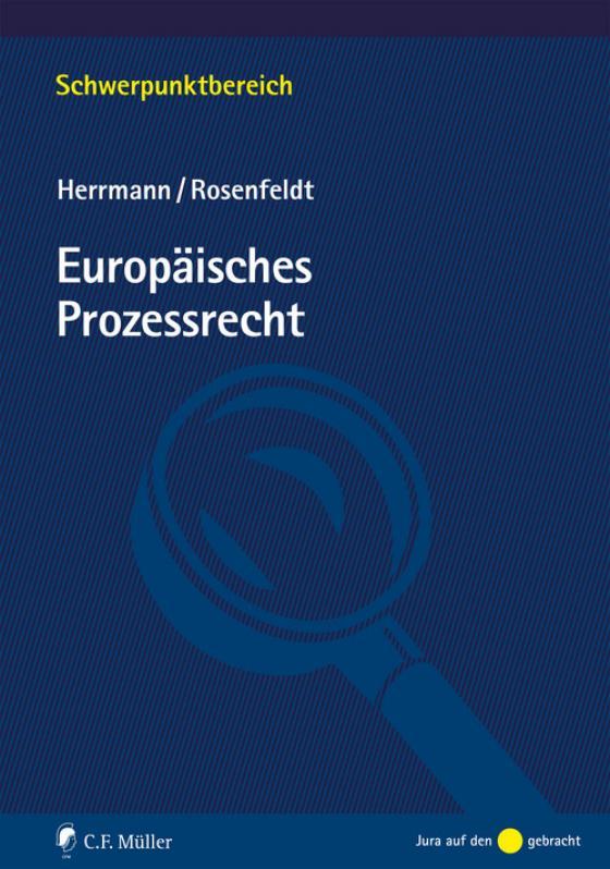 Cover-Bild Europäisches Prozessrecht