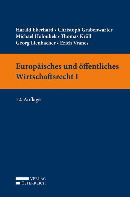 Cover-Bild Europäisches und öffentliches Wirtschaftsrecht I
