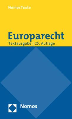 Cover-Bild Europarecht