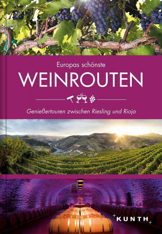 Cover-Bild Europas schönste Weinrouten