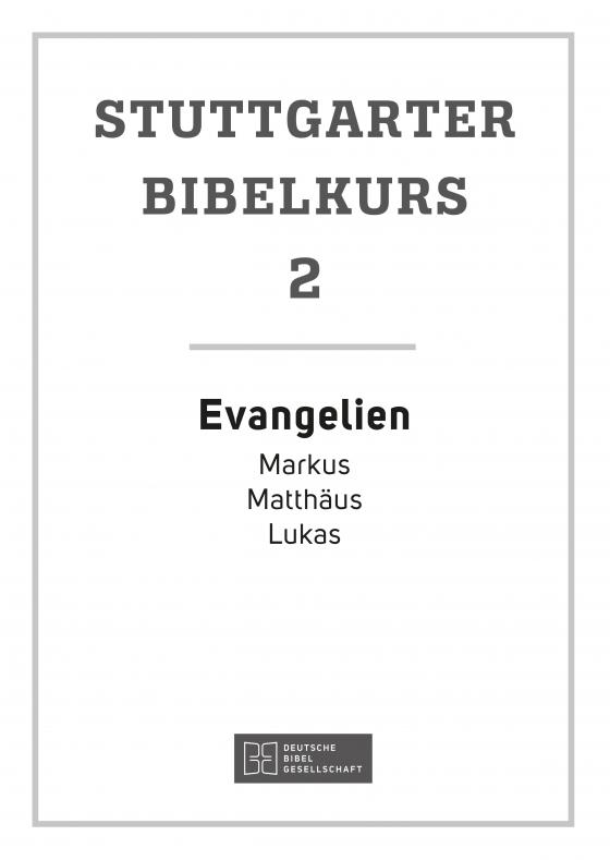 Cover-Bild Evangelien