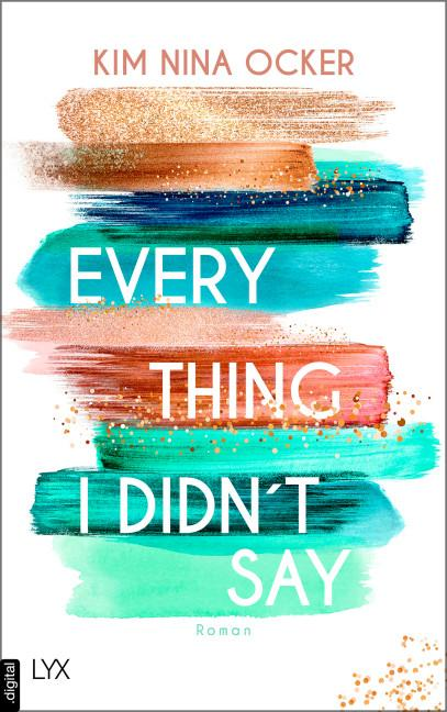 Cover-Bild Everything I Didn't Say