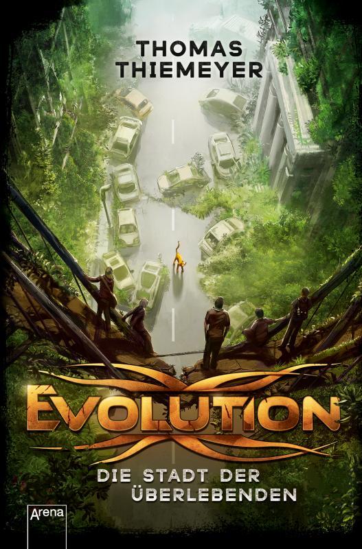 Cover-Bild Evolution (1). Die Stadt der Überlebenden