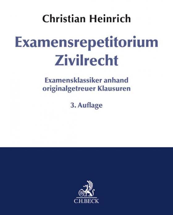 Cover-Bild Examensrepetitorium Zivilrecht