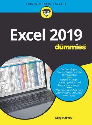 Cover-Bild Excel 2019 für Dummies