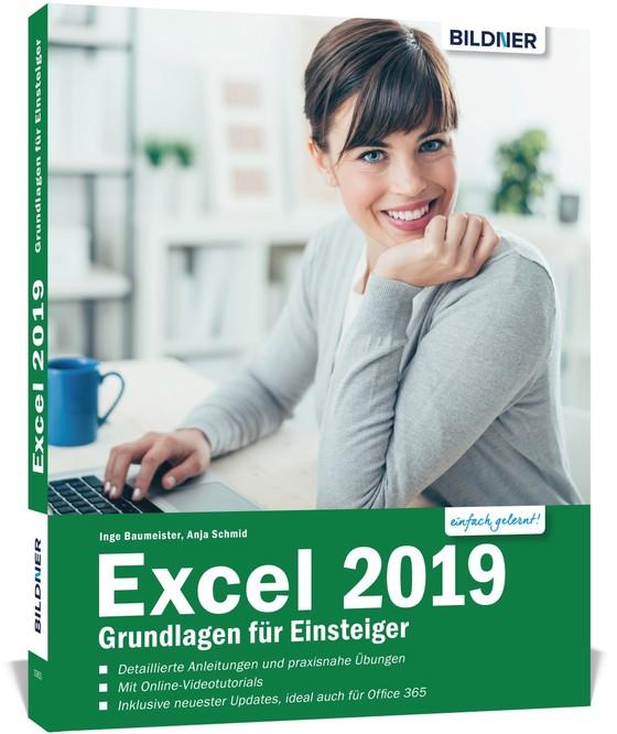 Cover-Bild Excel 2019 - Grundlagen für Einsteiger