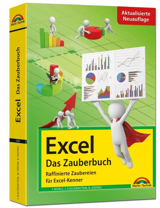 Cover-Bild Excel - Das Zauberbuch: Raffinierte Zaubereien für Excel-Kenner