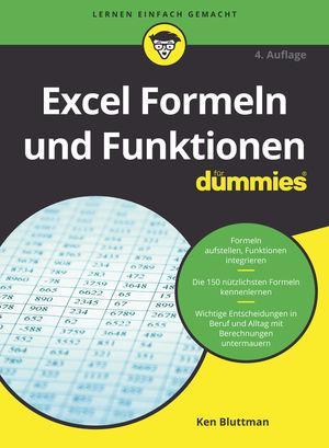 Cover-Bild Excel Formeln und Funktionen für Dummies