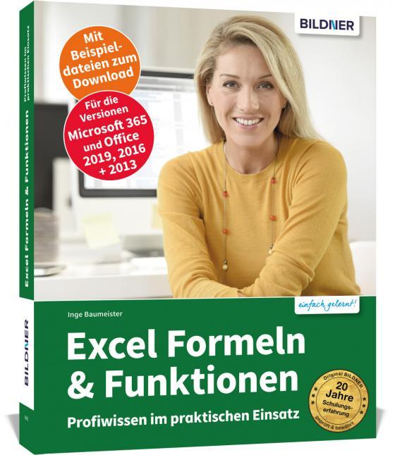 Cover-Bild Excel Formeln und Funktionen: Profiwissen im praktischen Einsatz