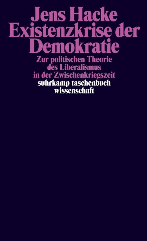 Cover-Bild Existenzkrise der Demokratie