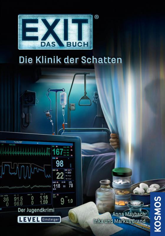 Cover-Bild EXIT - Das Buch: Die Klinik der Schatten