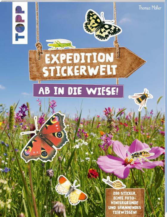 Cover-Bild Expedition Stickerwelt - Ab in die Wiese!