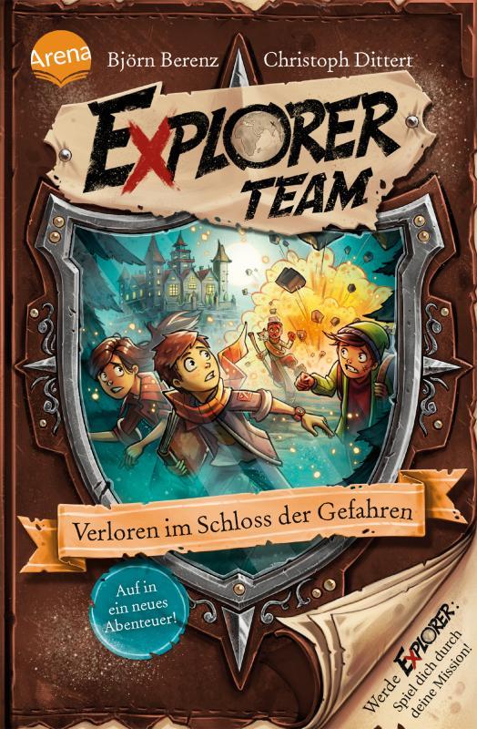 Cover-Bild Explorer Team. Verloren im Schloss der Gefahren