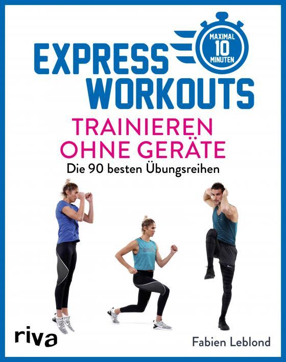Cover-Bild Express-Workouts – Trainieren ohne Geräte