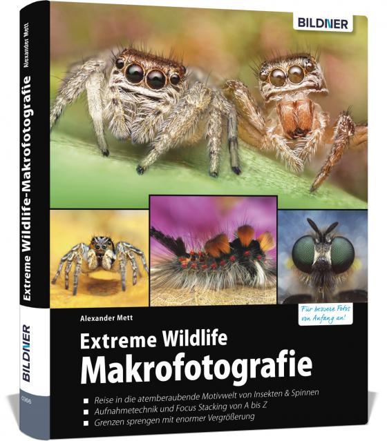 Cover-Bild Extreme Wildlife-Makrofotografie