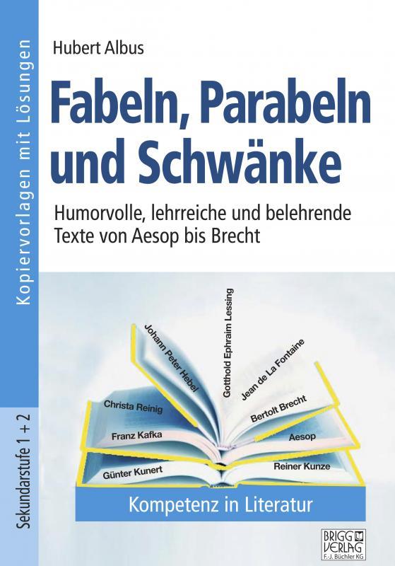 Cover-Bild Fabeln, Parabeln und Schwänke