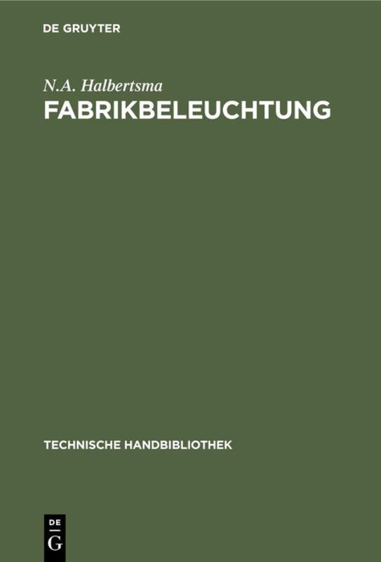 Cover-Bild Fabrikbeleuchtung