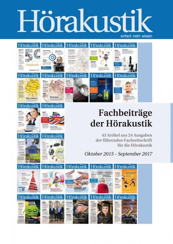 Cover-Bild Fachbeiträge der Hörakustik Oktober 2015 - September 2017