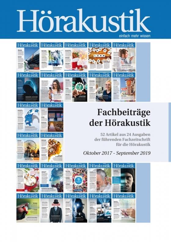 Cover-Bild Fachbeiträge der Hörakustik Oktober 2017 - September 2019