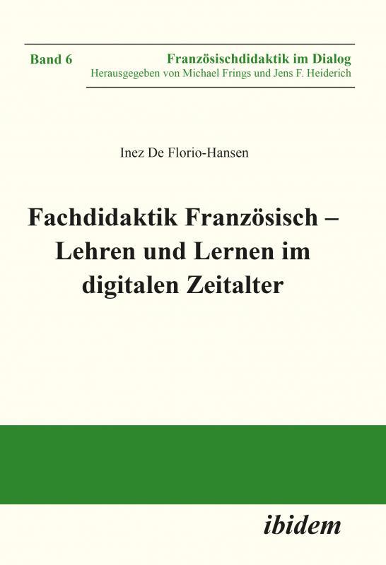 Cover-Bild Fachdidaktik Französisch – Lehren und Lernen im digitalen Zeitalter