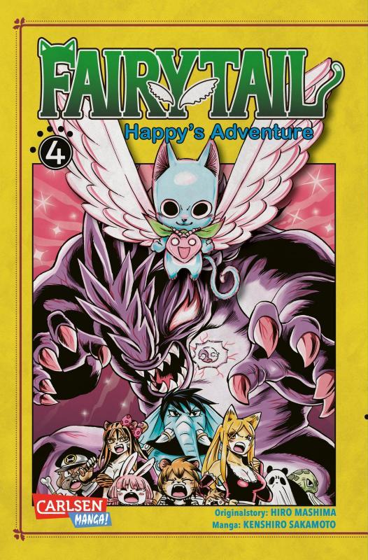 Cover-Bild Fairy Tail – Happy's Adventure 4