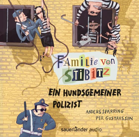 Cover-Bild Familie von Stibitz - Ein hundsgemeiner Polizist