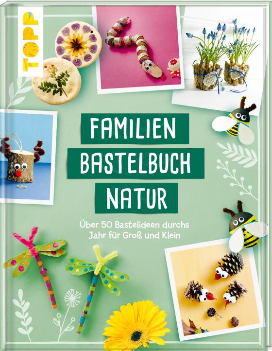 Cover-Bild Familienbastelbuch Natur