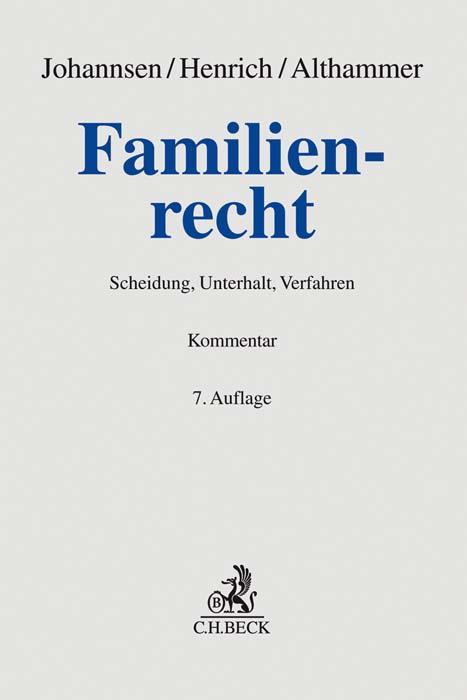 Cover-Bild Familienrecht