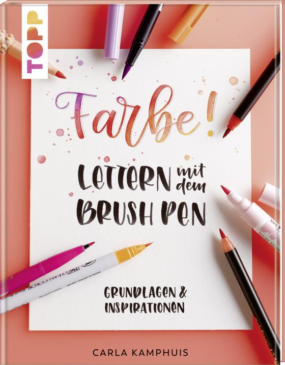 Cover-Bild Farbe! Lettern mit dem Brush Pen