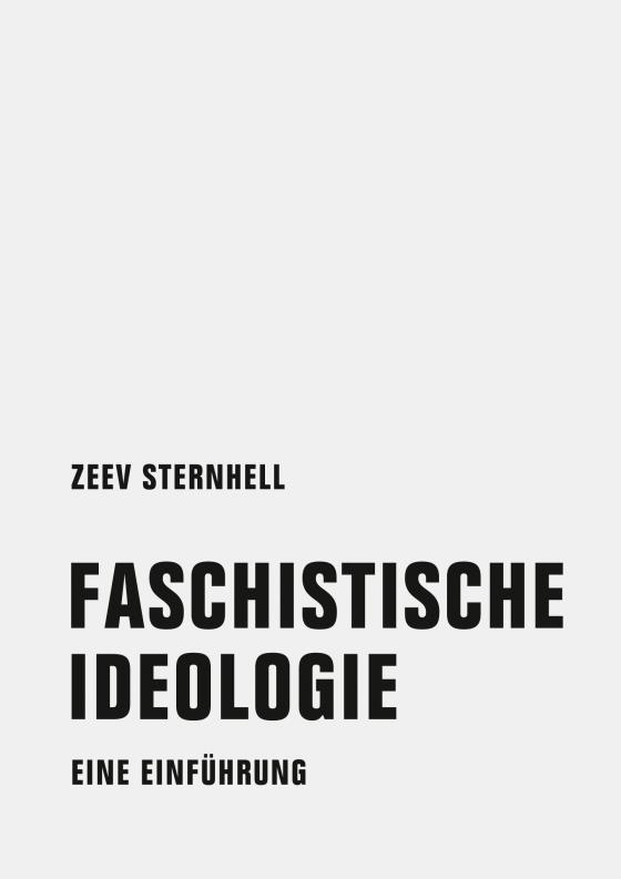 Cover-Bild Faschistische Ideologie