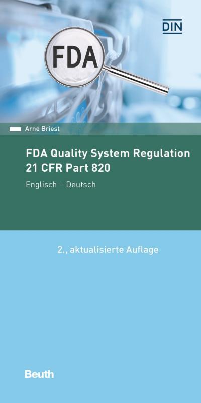Cover-Bild FDA Quality System Regulation